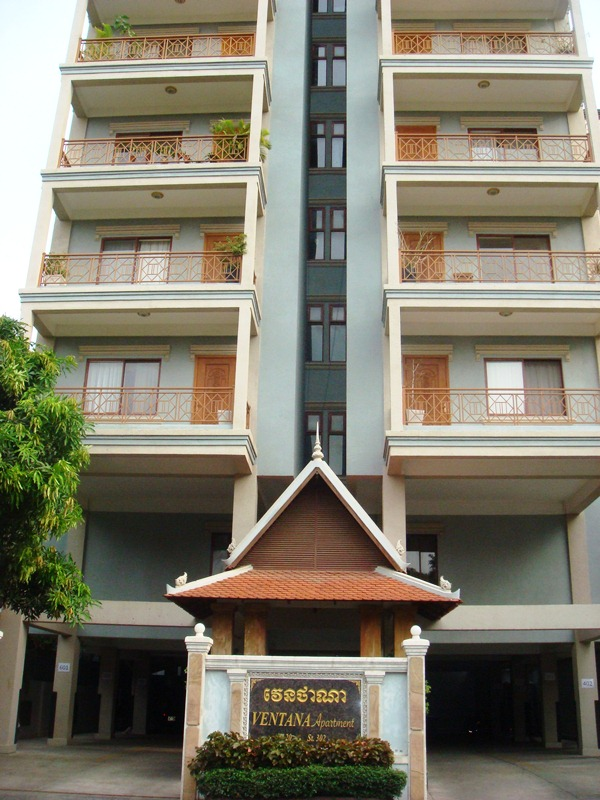 AFS0017 Nice apartment 1 Bedroom for rent BKK1, Phnom Penh, Cambodia ...