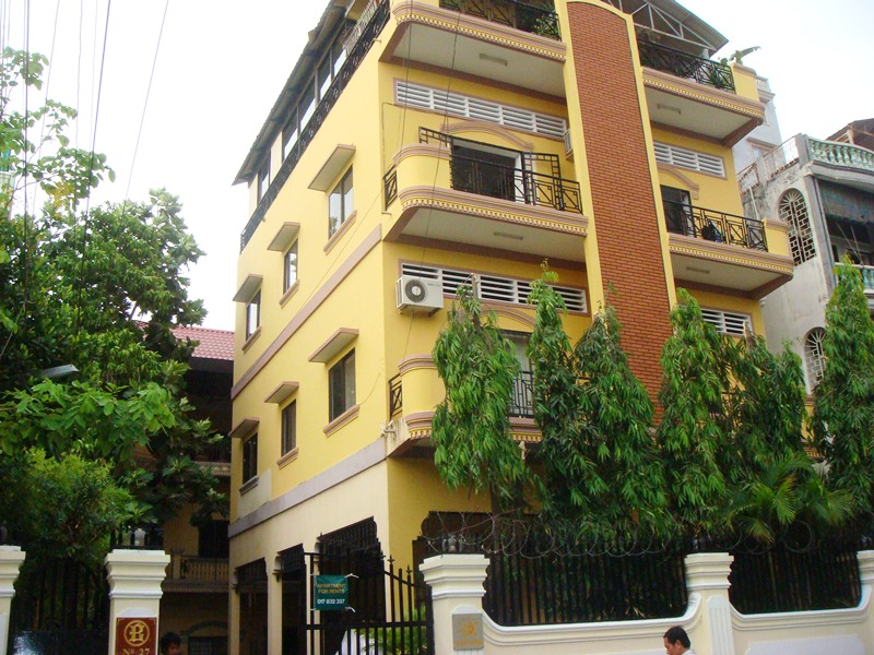 AFS0018 Apartments 1Bedroom for rent BKK1, Phnom Penh, Cambodia ...